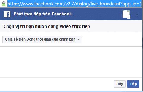 Hình ảnh phat truc tiep video man hinh dien thoai in Hướng dẫn Live Stream Video màn hình điện thoại trực tiếp trên Facebook