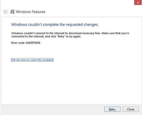 Hình ảnh khong cai duoc NET Framework 3.5 tren windows in Hướng dẫn sửa lỗi không cài được .NET Framework 3.5 trên Windows