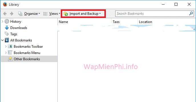 Hình ảnh meo sao luu bookmark tu chrome sang firefox in Cách sao lưu bookmark từ Chrome sang Firefox