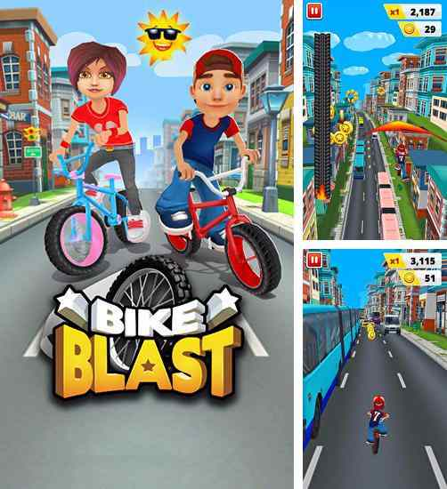 Hình ảnh game Bike Blast in Bike Blast