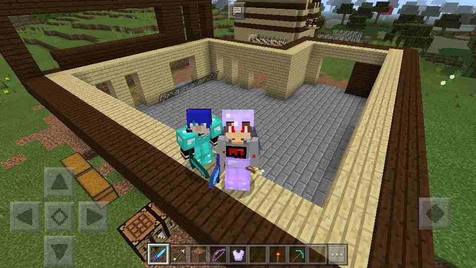 Hình ảnh game Minecraft in Minecraft