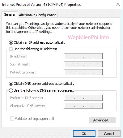 Hình ảnh cach doi ip mang tren may tinh in Hướng dẫn cách thay đổi địa chỉ IP mạng trên máy tính