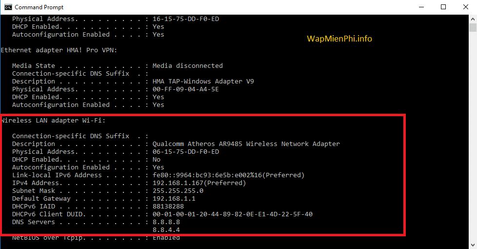Hình ảnh doi dia chi ip in Hướng dẫn cách thay đổi địa chỉ IP mạng trên máy tính