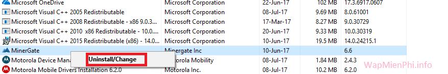 Hình ảnh go cai dat phan mem may tinh in Hướng dẫn gỡ cài đặt phần mềm trên Windows (XP/7/8/10)