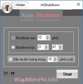 Hình ảnh hen gio tat may tinh bang phan mem in Cách hẹn giờ tắt máy tính Windows cực nhanh và đơn giản