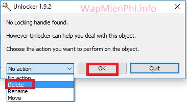 Hình ảnh xoa file cung dau bang unlocker in Hướng dẫn cách xoá file cứng đầu trên máy tính Windows thành công 100%