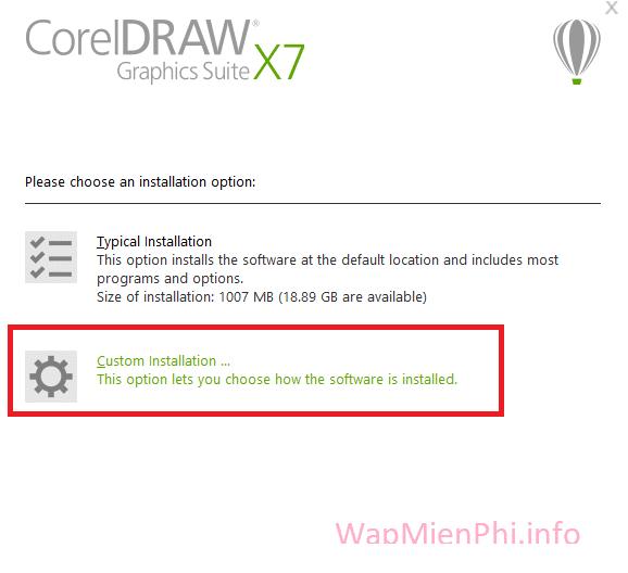 Hình ảnh cach cai pm coreldraw x7 in CorelDRAW X7