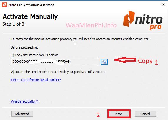 Hình ảnh huong dan cai Nitro PDF Pro in Nitro Pro 11