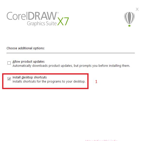 Hình ảnh huong dan cai dat coreldraw x7 in CorelDRAW X7
