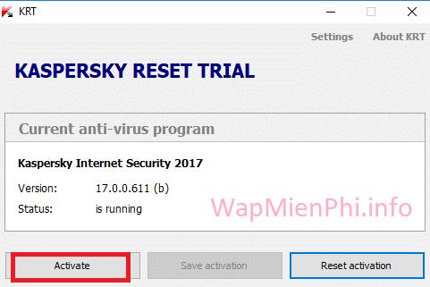 Hình ảnh huong dan cai kis in Kaspersky Internet Security