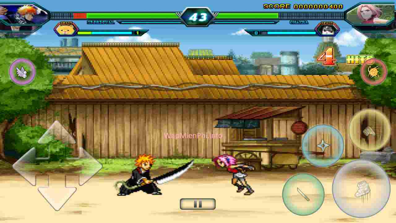 Hình ảnh choi game Bleach Vs Naruto 2.6 in Bleach Vs Naruto 2.6