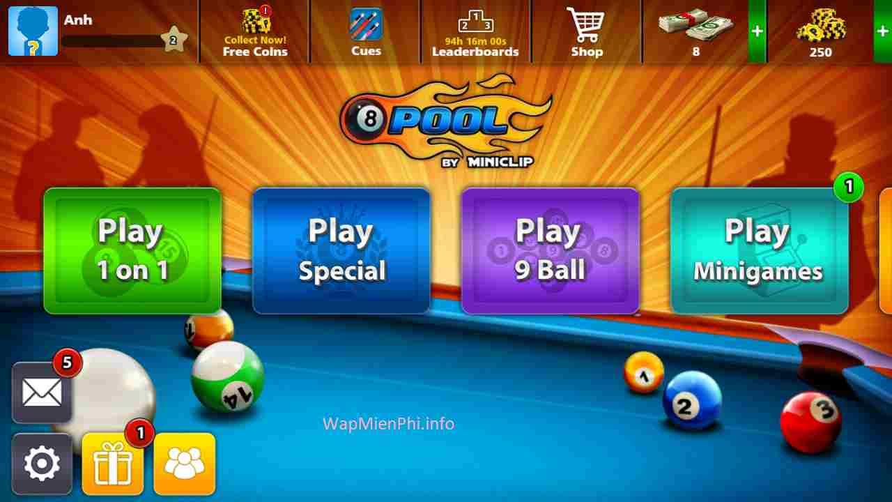 Hình ảnh game Bida Lo 8 Bong in Bida Lỗ 8 Bóng
