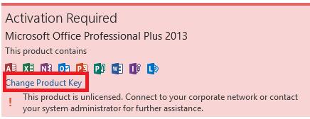 Hình ảnh nhap key Office 2013 in Hướng dẫn kích hoạt Office 2013 bản quyền miễn phí bằng Product Key