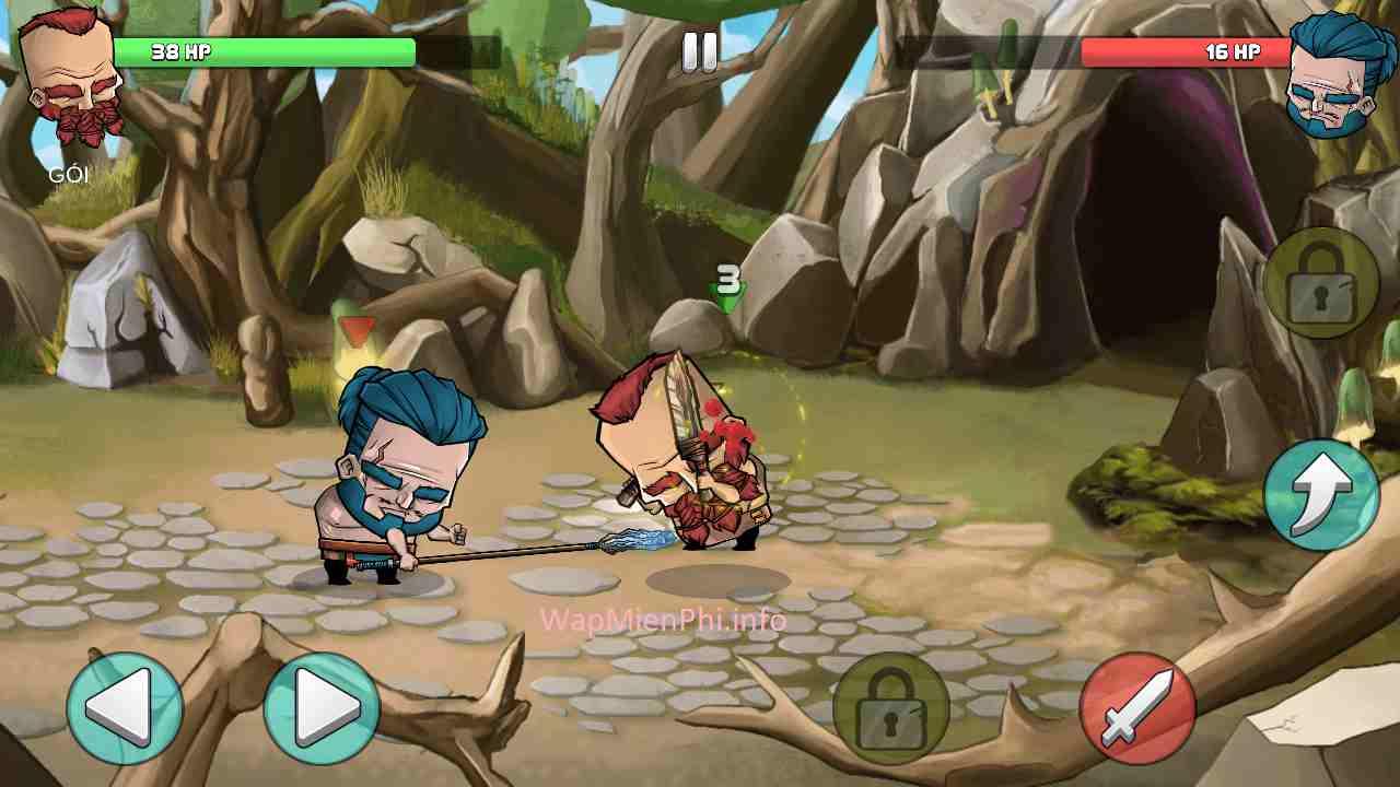 Hình ảnh game Vo Si Giac Dau in Võ Sĩ Giác Đấu